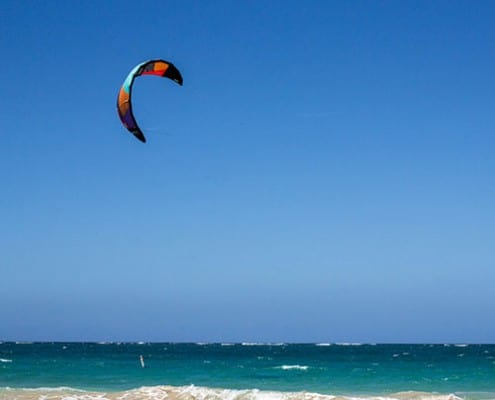 kite surf. FERNANDO BADILLO